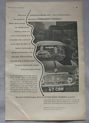 1961 Vauxhall Original advert No.2