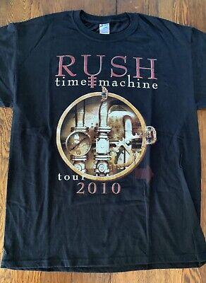 Rush Time Machine Tour Shirt - 2010 Tour - Size L - Unworn