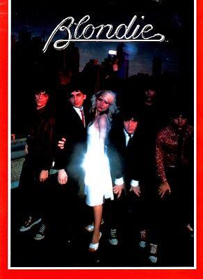 BLONDIE 1979 PARALLEL LINES TOUR CONCERT PROGRAM BOOK DEBORAH HARRY / NMT 2 MINT