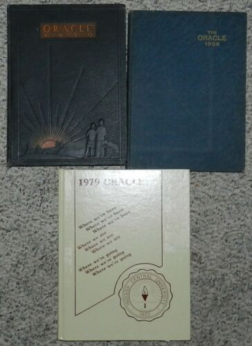 Oracle Yearbook - Indiana Central College Indianapolis, Indiana 1930 - 1979