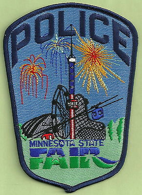 MINNESOTA STATE FAIR POLICE PATCH