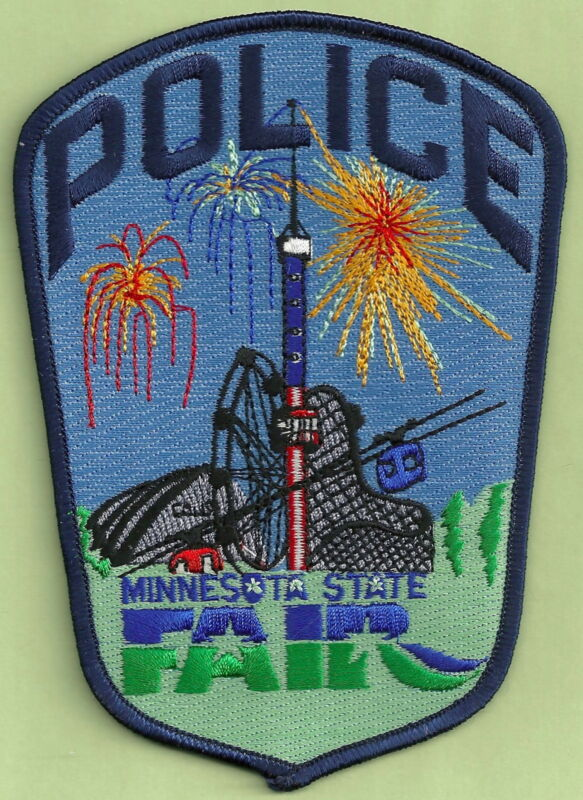 MINNESOTA STATE FAIR POLICE SHOULDER PATCH