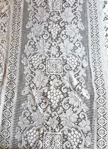 Vintage lace net curtain