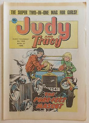 JUDY & TRACY Comic #1320 - 27th April 1985