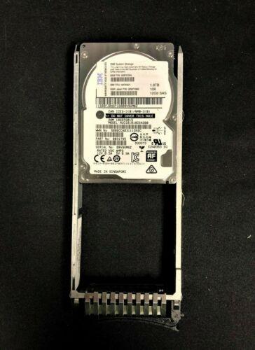 IBM 2077 2078-AC63 V5000 00RX921 00RY094 1.8TB 10K 2.5 SFF 6GB SAS Drive / Tray
