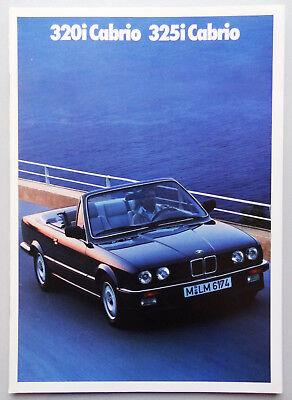V08028 BMW SERIE 3 CABRIOLET (E30) - 320i & 325i