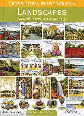 DMC Cross Stitch Motif Series 5 Chart Book Landscapes