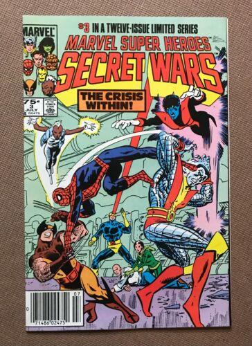 Marvel Super Heroes: Secret Wars #3 - 1st Appearance of Titania & Volcana