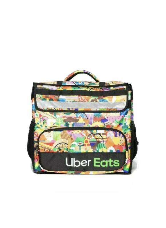 **RARE** UBER EATS LIMITED EDITION (Melanie) Insulated Bag Postmates DoorDash