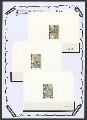 Cameroon Proof Essay - Music Mint Stamps R400