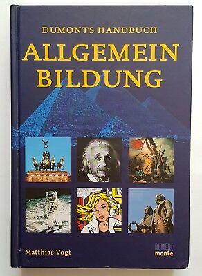 Vogt Dumonts Handbuch ALLGEMEIN BILDUNG Allgemeinbildung guter Zustand