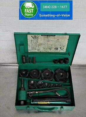Greenlee 7310 Hydraulic Metal Knockout Punch Punches 11