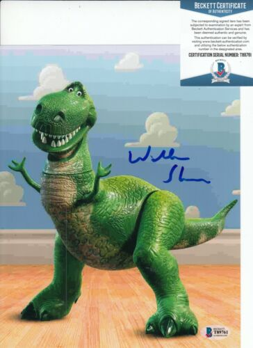 WALLACE SHAWN signed (TOY STORY) Rex Movie 8X10 photo BECKETT BAS T89761