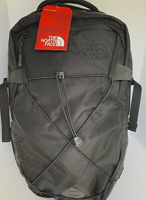 The North Face Solid State Black Laptop Backpack, TNF Water Resistant