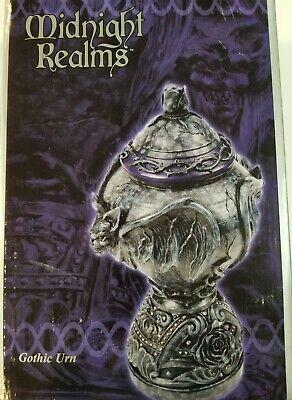 NIB Midnight Realms Gothic Urn