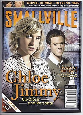 Smallville Official Magazine #21 ~ Newsstand Ed. Mack Ashmore! Chloe & Jimmy!