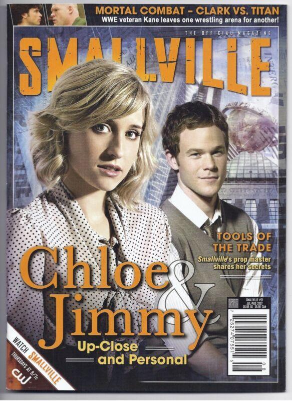 Smallville Official Magazine #21 ~ Newsstand Ed. Mack Ashmore! Chloe & Jimmy!