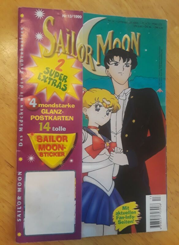 Vintage 1999 Sailor Moon Comic # 13 in German