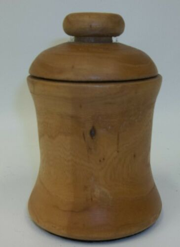 Treenware Lidded Wooden Container Canister