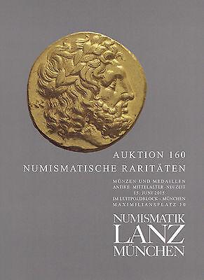 LANZ AUKTION 160 Katalog Antike Mittelalter Neuzeit Kelten Griechen Römer ~TH