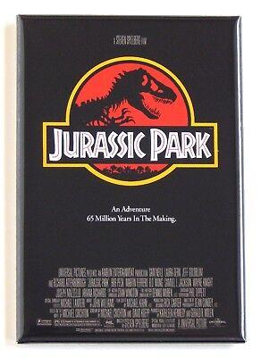 Jurassic Park FRIDGE MAGNET (2 x 3 inches) movie poster