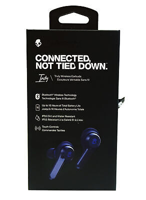 Skullcandy Indy Truly Wireless Water-Resistant  In-Ear Headphones  *S2SSWM704