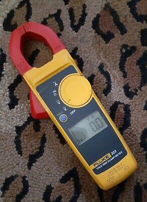 Fluke 323 True Rms Digital Clamp Meter Multimeter