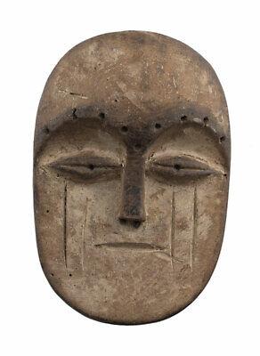 Mask Fang Ngil Gabon Pasport Diminutive African Wood 12cm Art Primitive 16930