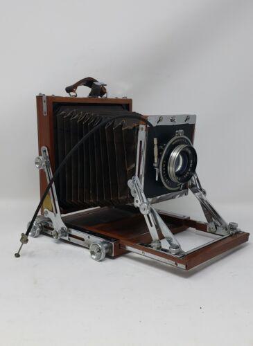 Vintage NAGAOKA View Wood Camera 4X5 view with Lens Copal #1