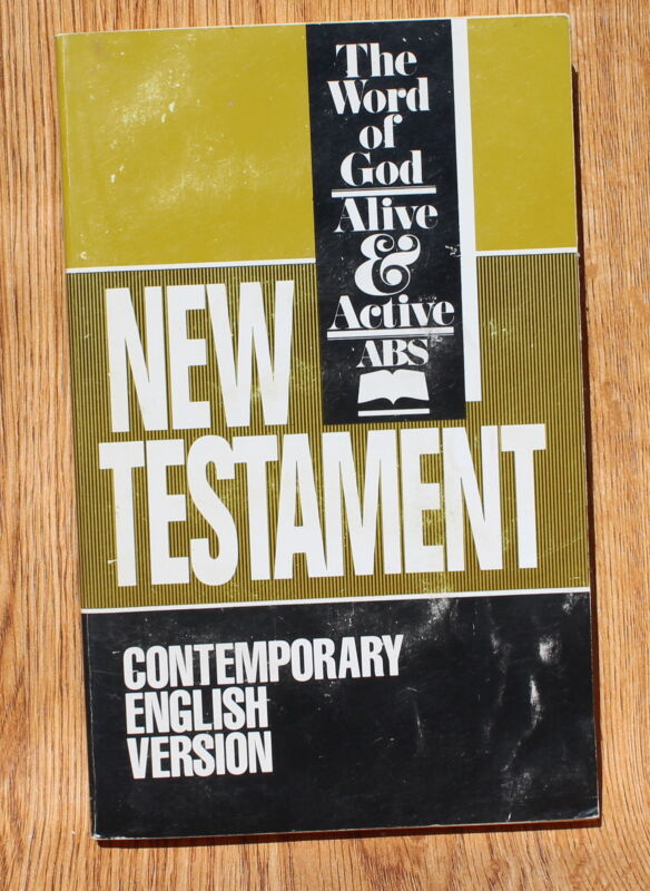 Contemporary English Version NT Bible Paperback
