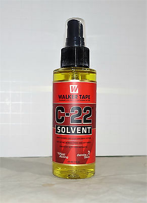 walker tape C-22 Solvent adhesive remover for wig hair system_4 oz_free shipping ()