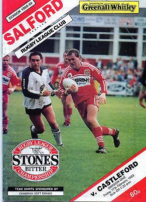 Salford v Castleford 1989