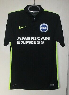 Brighton & Hove Albion Away football shirt 2016-2017 jersey Nike size M image