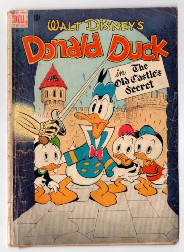 Dell Four Color #189 (1942 Series) Donald Duck by Carl Barks 1948 GD-