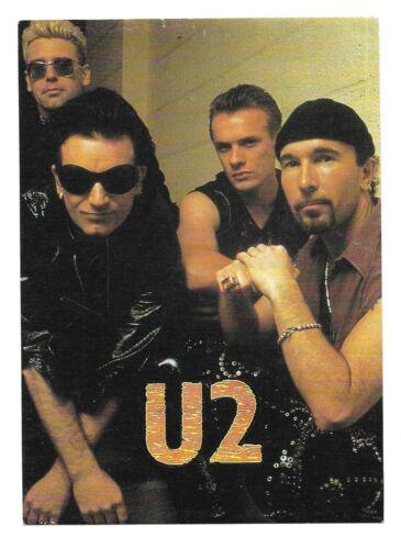 U2-BONO-STICKER MEASURES 4X5-EXCELLENT CONDITION