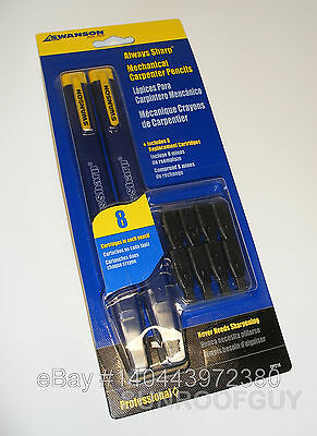 SWANSON AlwaySharp Mechanical Carpenter Pencil (CP216) Refillable NEW