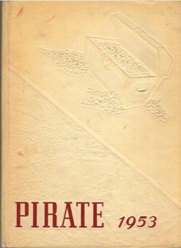 1953 Victoria Texas Victoria College Pirate Yearbook Jim Lehrer Editor-in-Chief