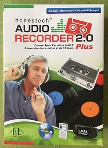 Audio Recorder 2.0 Plus convert from cassettes and LP