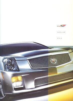 2006 Cadillac CTS CTS-V 34-page Original Sales Brochure Book Canada Guide