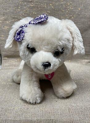 "Barbie Just Play Kiss & Care Pet 11"" Plush Puppy Dog Interactive Stuffed Animal"