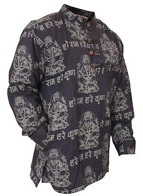 Mens Light Weight Festive Hippie Shirt Hipy Light Weight Cotton (Mens Hippie Fashion)