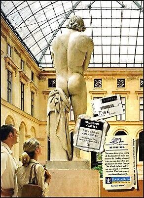 2003 Louvre Museum Royal Caribbean cruises Europe vintage photo print ad ads16