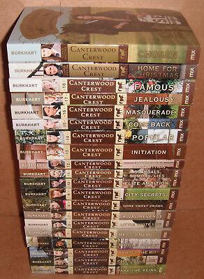 Lot of 20 Canterwood Crest Books by Jessica Burkhart Paperback NEW
