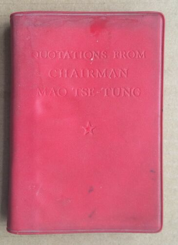 Orig.Chairman Mao Quotation China Culture Revolution Red Book 1966 (English)