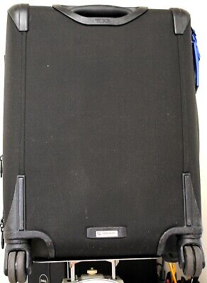 TUMI Alpha 2 Continental 4-wheeled 22 Inch Carry-On Luggage