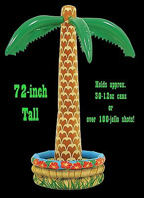 Tiki Bar Halloween Party (Inflatable LUAU PALM TREE COOLER Tiki Bar Pirate Party Tropical Decoration -6)