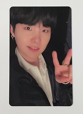 BTS BE Deluxe Lucky Draw SUGA Photocard M2U Free tracking number