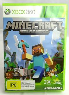 Minecraft For Xbox Other Video Games Consoles Gumtree - Minecraft spiele fur xbox 360