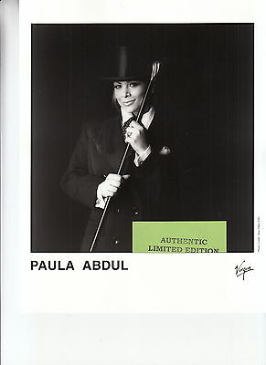 paula abdul limited edition press kit