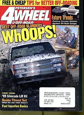 Petersen's 4 Wheel & Off-Road Magazine May 1999 Best Off-Road